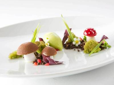 "Freestyle-Dessert: ""Der Tiroler Wald"""