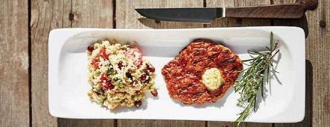 BBQ Steak aus Seitan