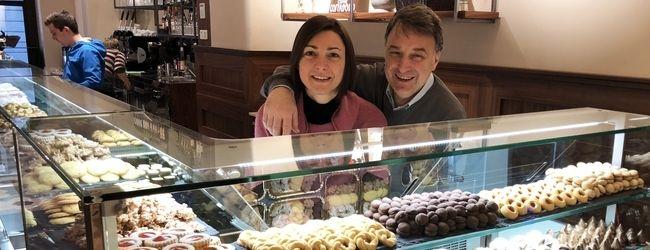 Die Inhaber Samuela Ferrari-Viscovich und Pietro Viscovich