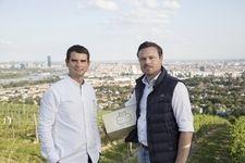 Önologe Dragos Pavelescu und Geschäftsführer Gerhard J. Lobner